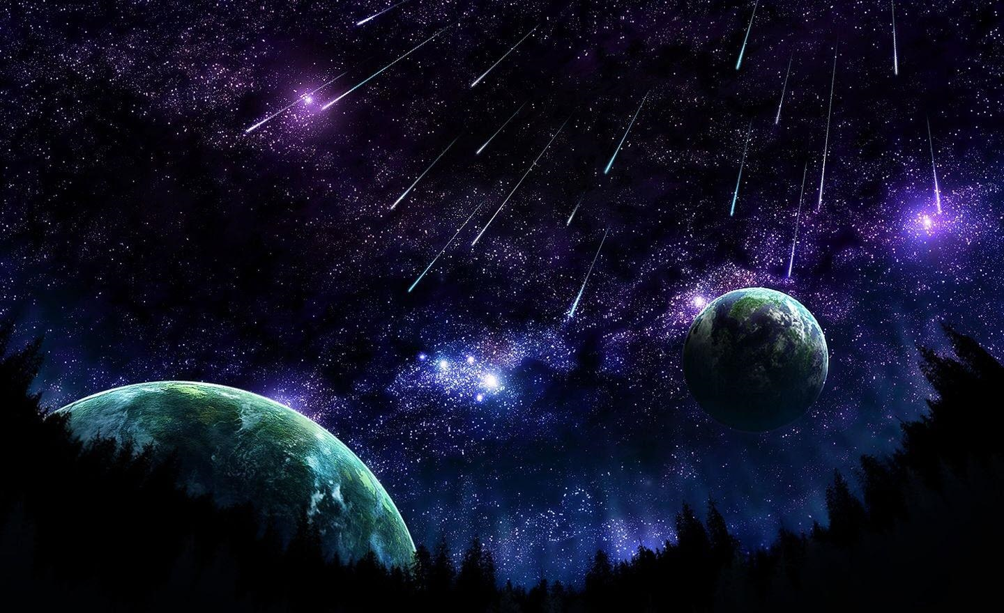 PHOTOGRAPHY PLUS 47 Galaxy HD wallpaper Space Universe Planets 1440x880