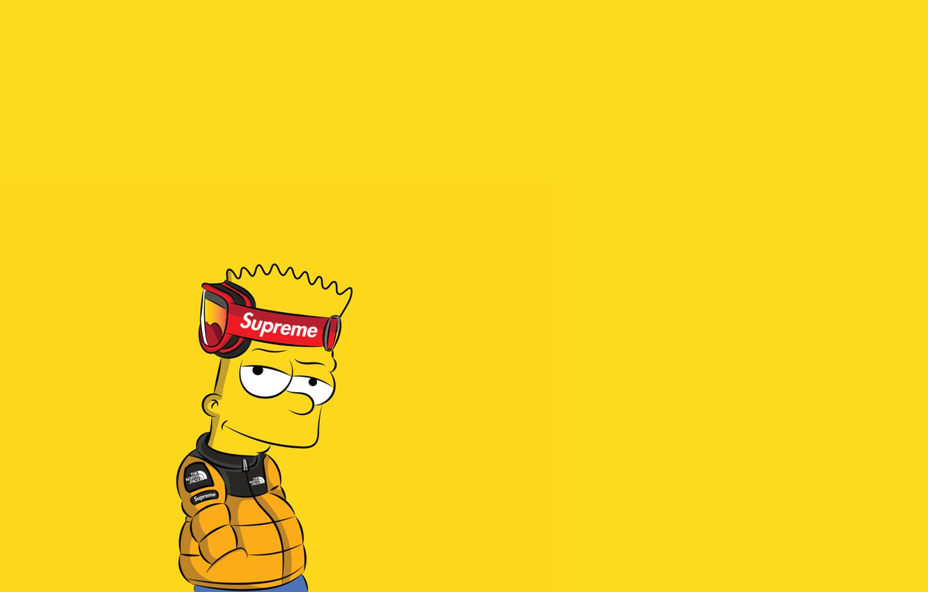 Wallpaper The simpsons Figure Background Simpsons Bart Art 1332x850