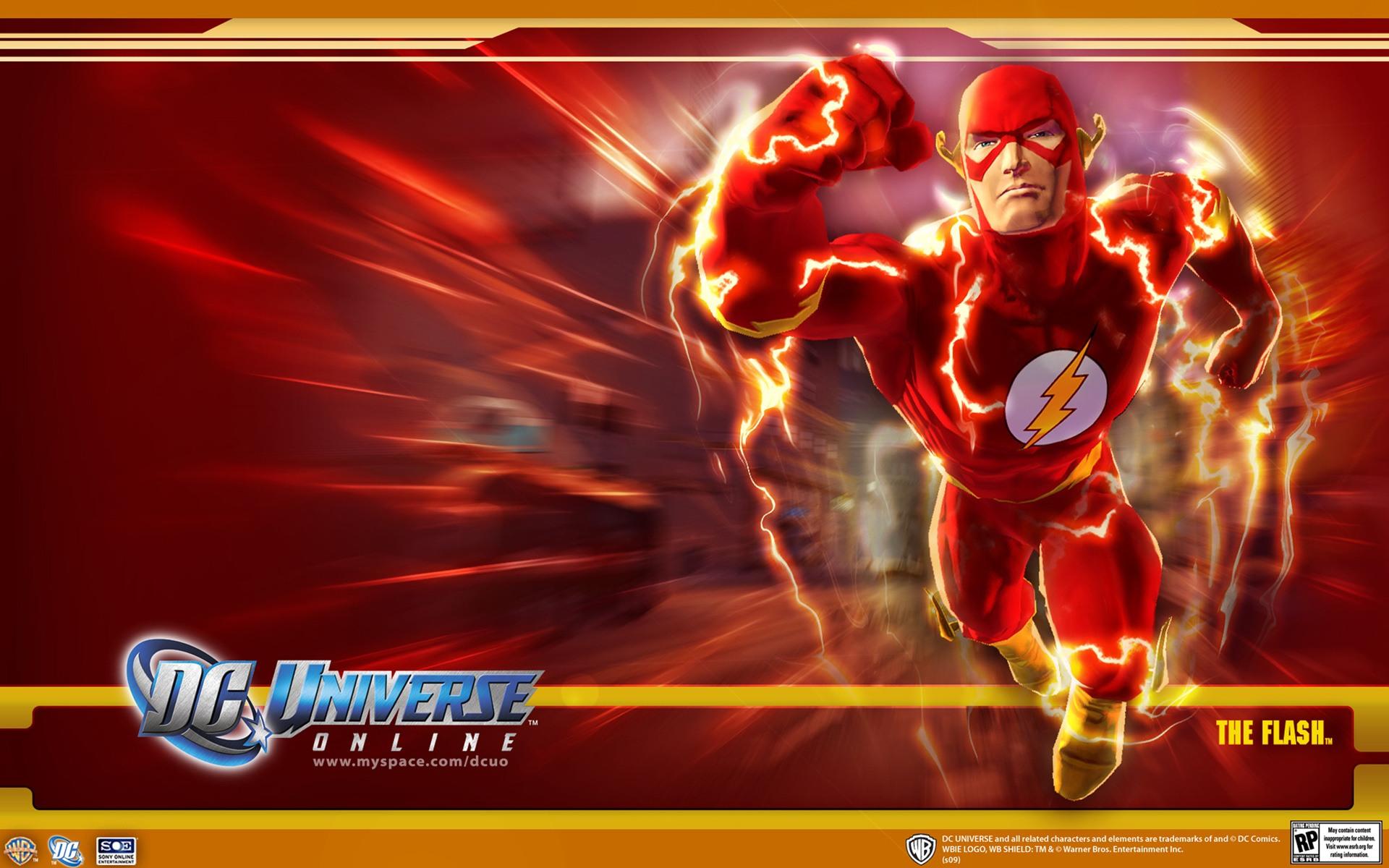 DC Universe Online   Flash desktop wallpaper 1920x1200