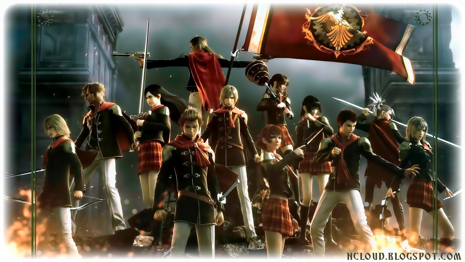 Free Download Final Kingdom Final Fantasy Type 0 Wallpapers