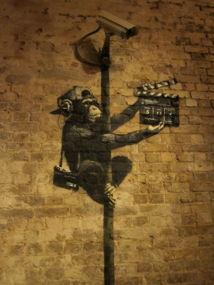 Banksy Art Wallpaper - WallpaperSafari
