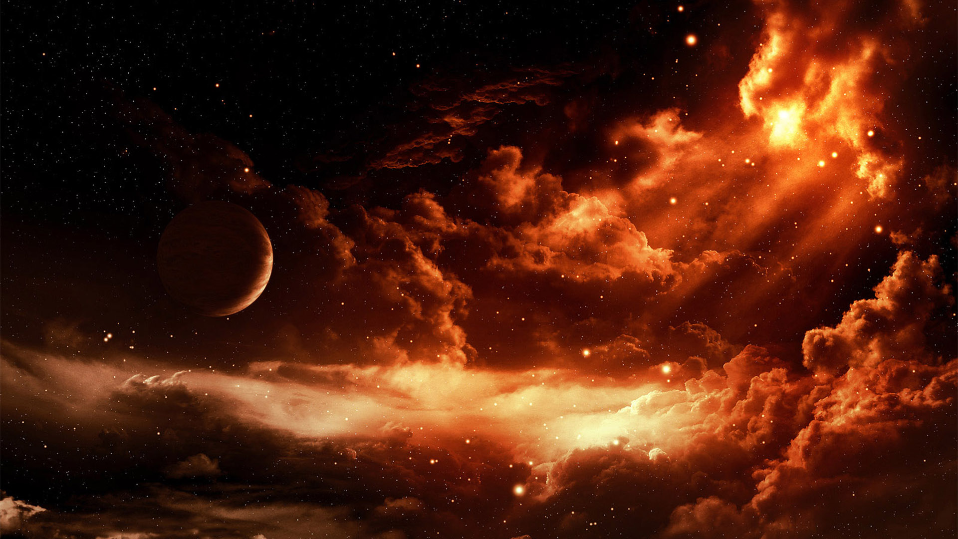 45 Stellar Space Art Wallpapers for Download 1920x1080
