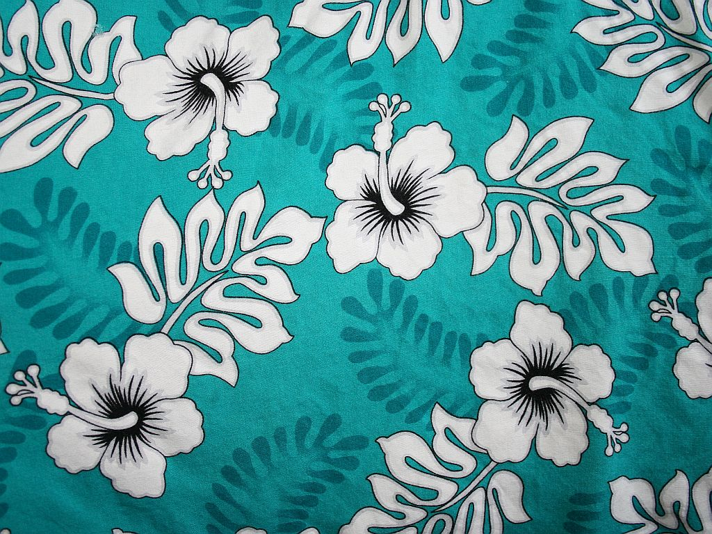 Hawaiian prints and I love the turquoise color Click the image to see 1024x768