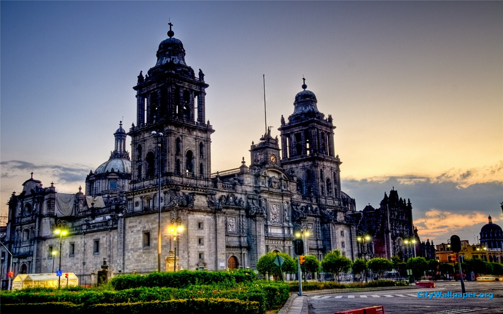 Mexico City Cathedral Desktop Wallpaper 1680x1050 pixel City HD 1680x1050