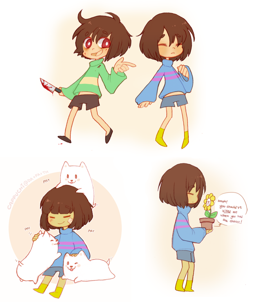 Undertale goodies by Cappuchi 829x963
