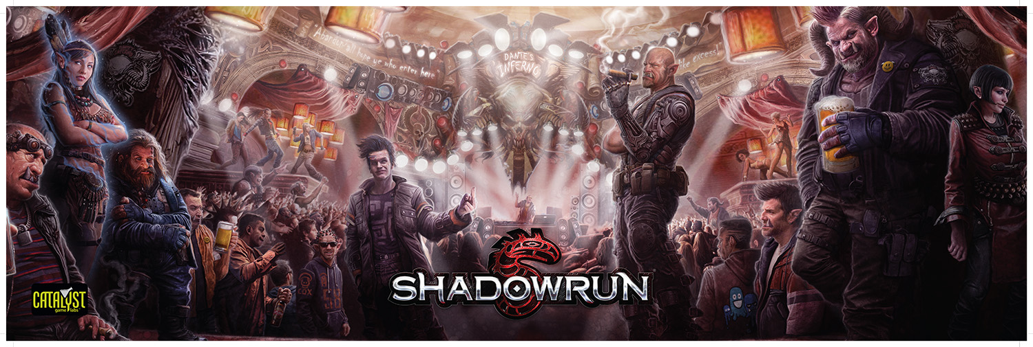 Shadowrun GM Screen and Other Runner Resources Preorders Available 1500x505