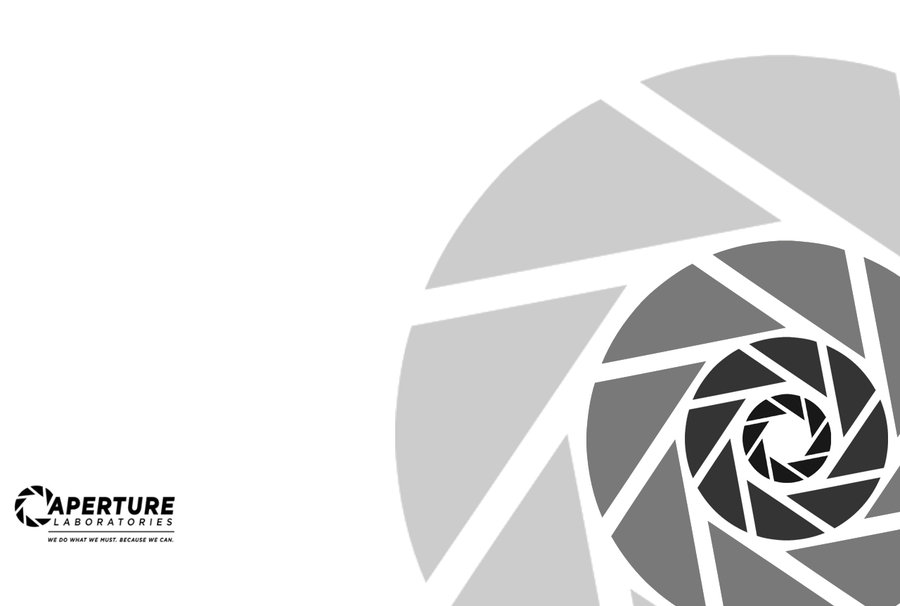 Free Download Aperture Science Background By Markfinn