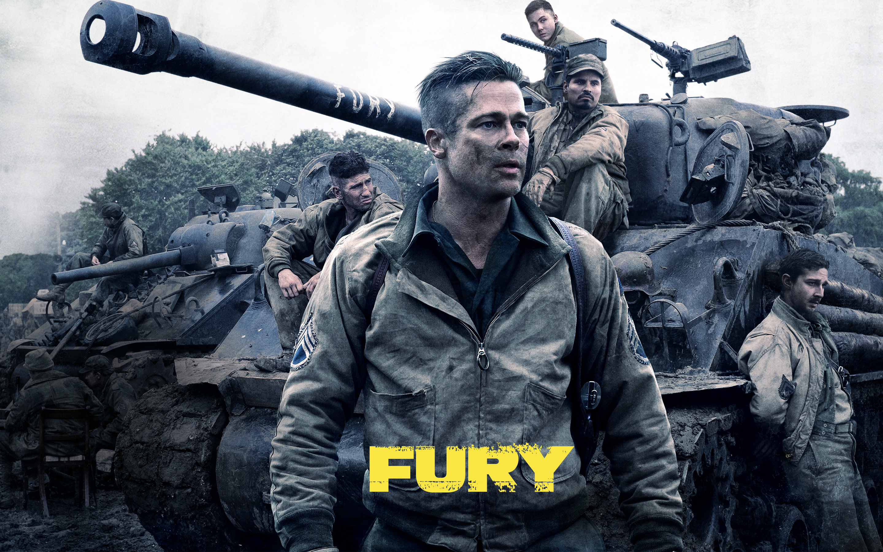 Fury Movie Wallpapers HD Wallpapers 2880x1800