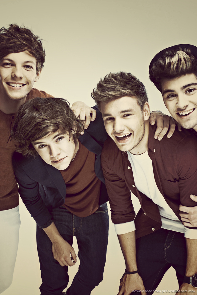 Wallpaper Iphone 5 One Direction One Direction 5 For Iphone 4 640x960