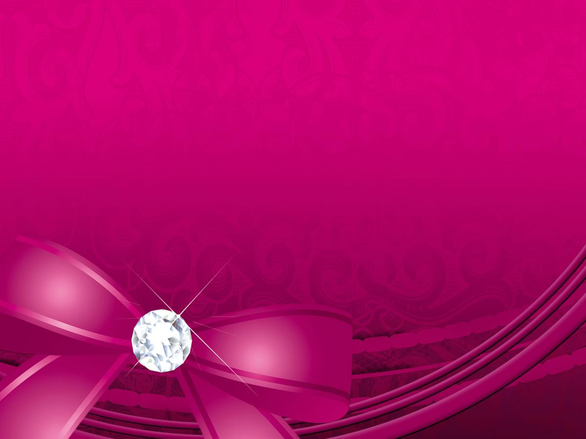 free pink ribbon wallpaper