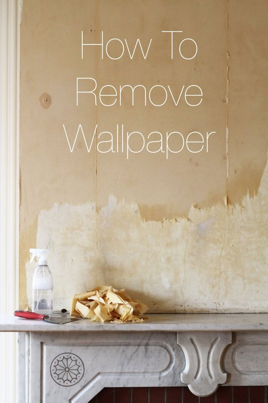 How To Remove Wallpaper Apartment Therapy 540x810
