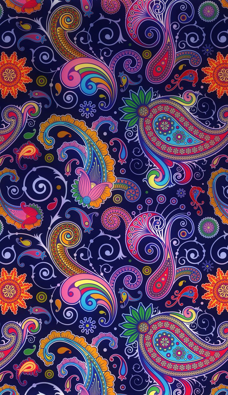 Iphone Wallpapers Paisley Pattern Wallpapers Iphone Iphone 6 More 736x1271