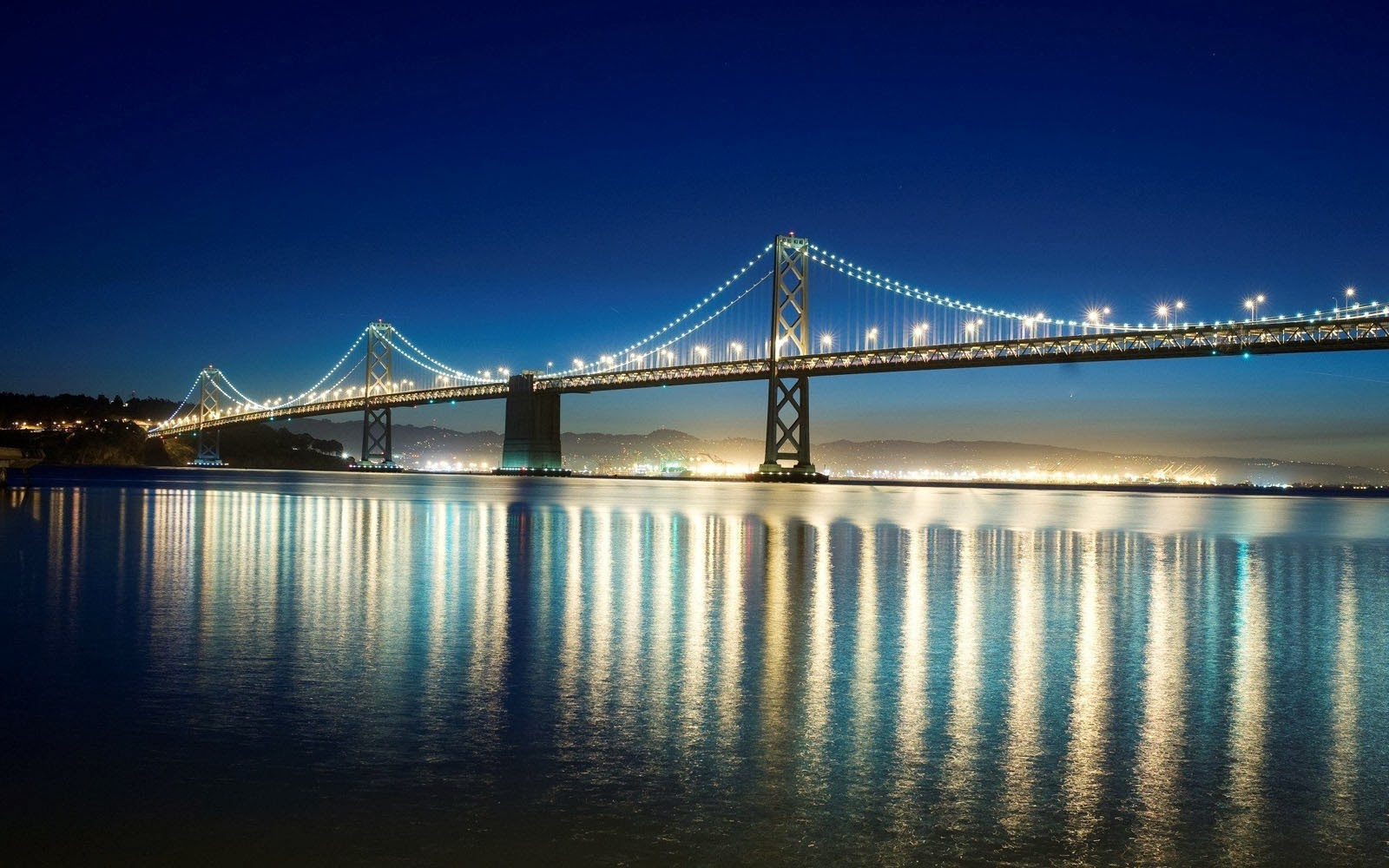 wallpapers san francisco bay bridge desktop wallpapers san francisco 1600x1000