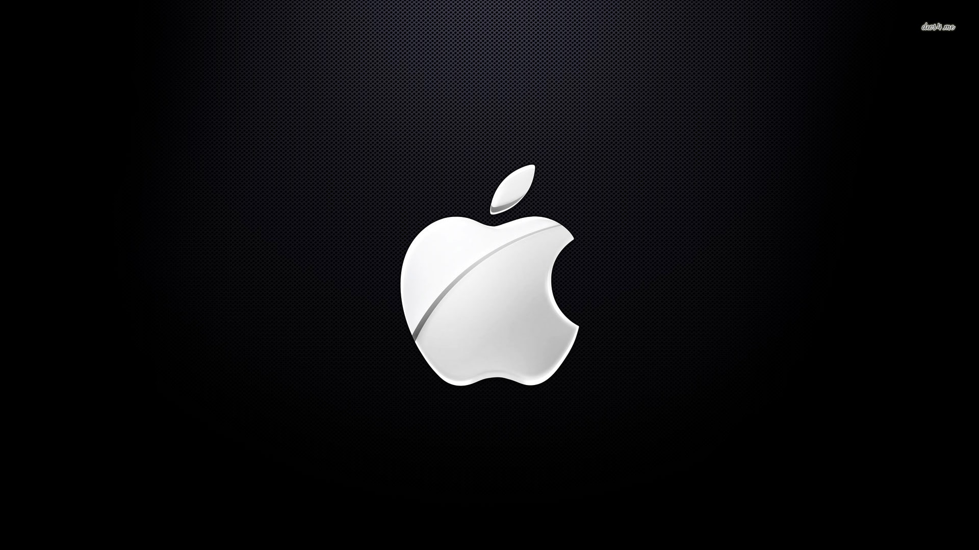 Black And White Apple Wallpaper 1920x1080