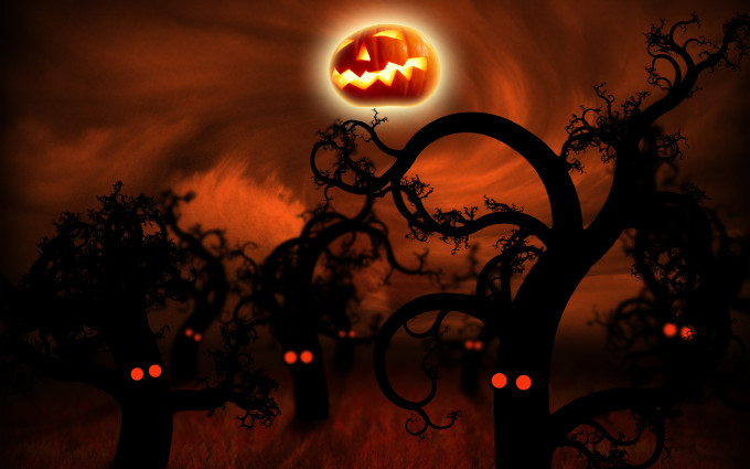 Forest Halloween Wallpaper DESKTOP BACKGROUNDS Best Wallpapers HQ 680x425