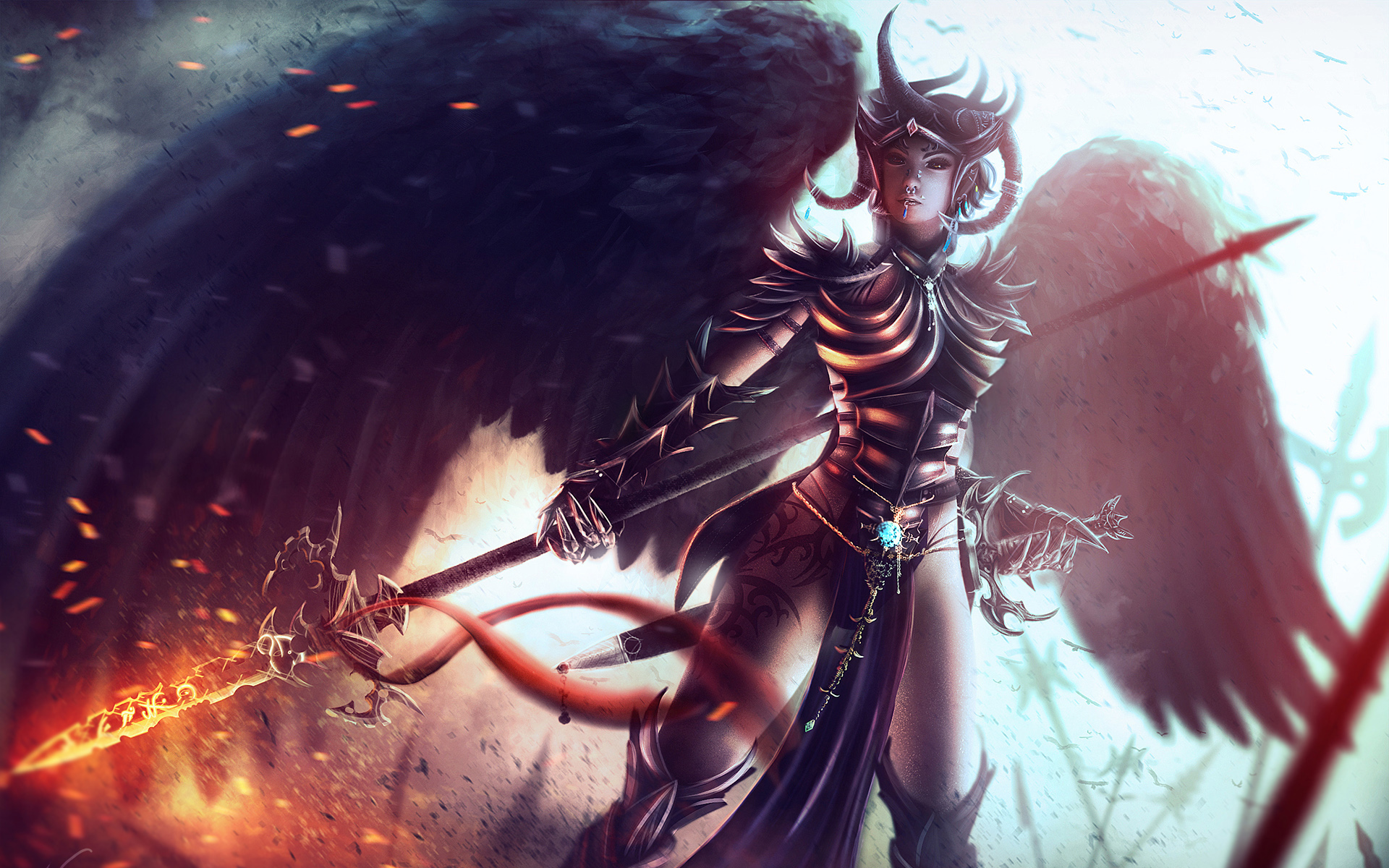 fantasy girl wallpapers it is eye catching and attractive wallpaper 1920x1200
