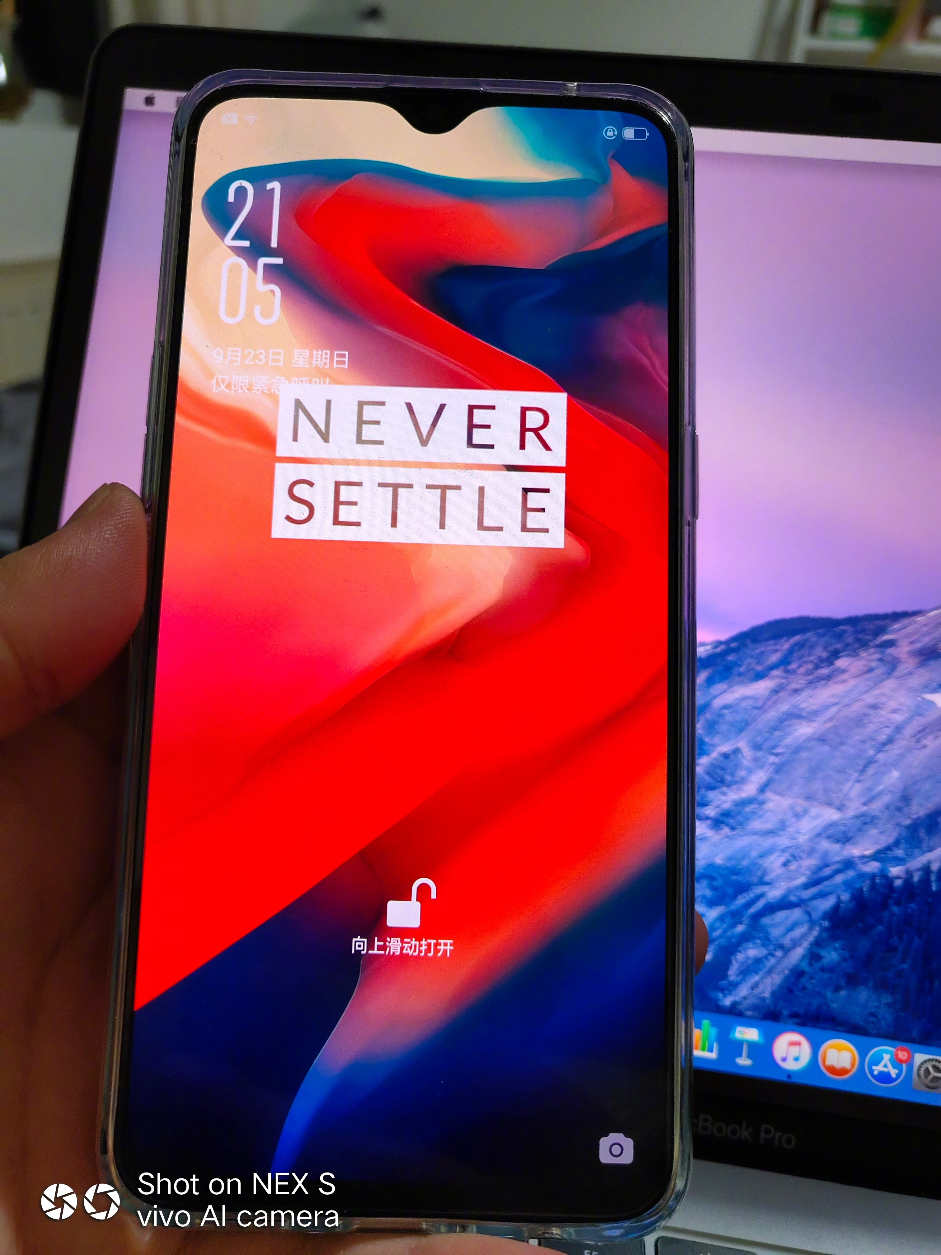 OnePlus 6T leaked in hands on images showing the In display 3024x4032