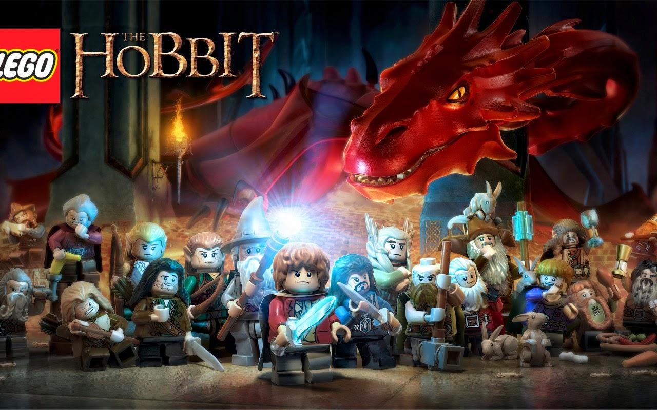Lego The Hobbit wallpaper Gamebud 1280x800