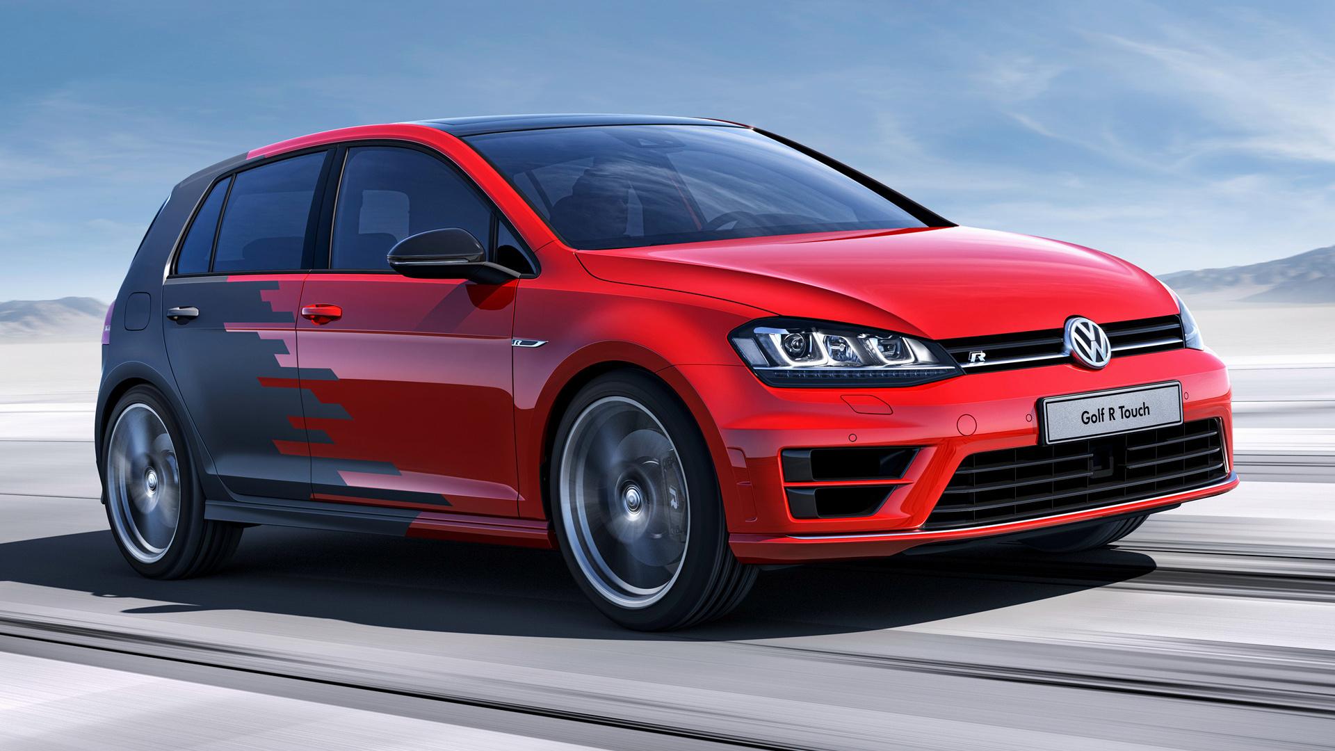 Volkswagen Golf R Touch 5 door 2015 Wallpapers and HD Images 1920x1080