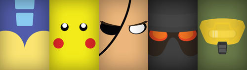 These Video Game Faces Would Make Great Phone Wallpapers Gizmodo 500x142