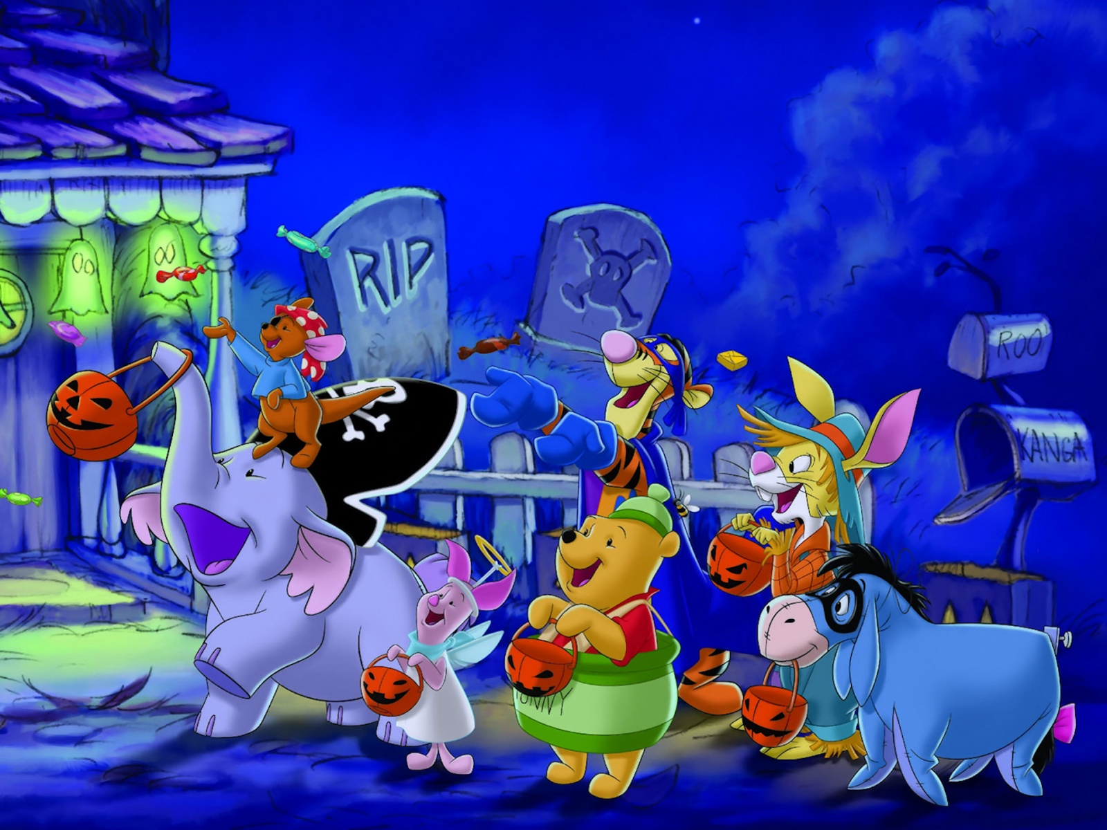 Happy Halloween Wallpaper Disney wallpaper wallpaper hd 1600x1200
