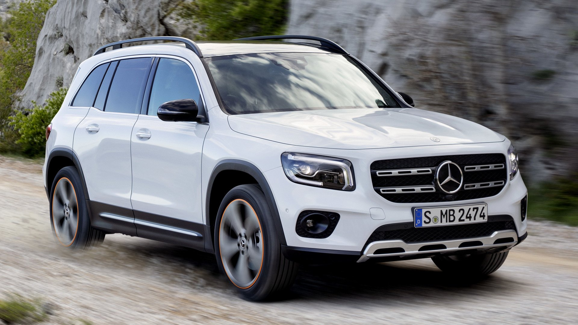 2019 Mercedes Benz GLB Class Edition 1   Wallpapers and HD Images 1920x1080