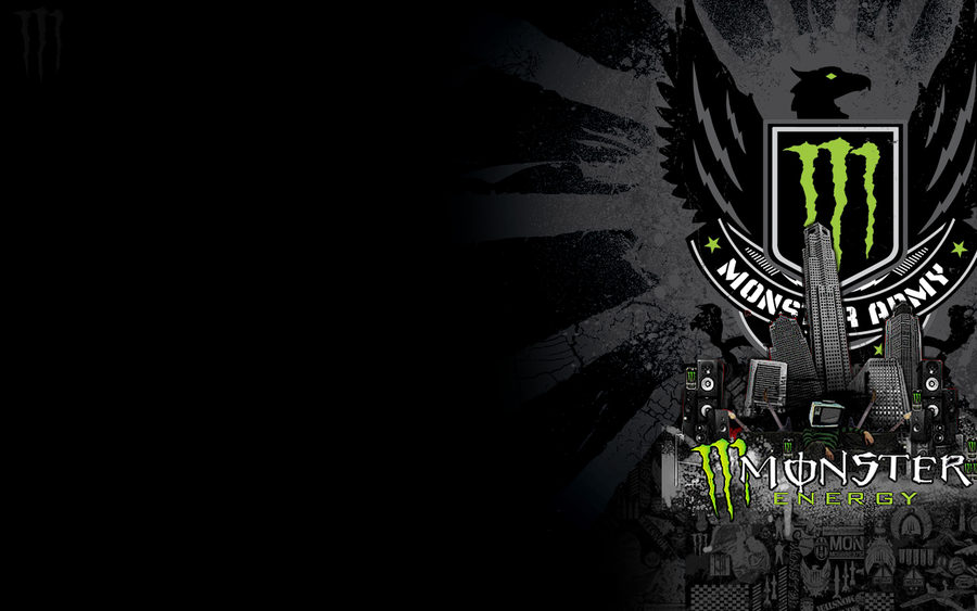 Monster Energy Wallpaper by 1337leviathan 900x563
