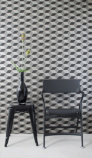 Black and White Geometric Wallpapers Nama Rococos Random Geometry 321x550