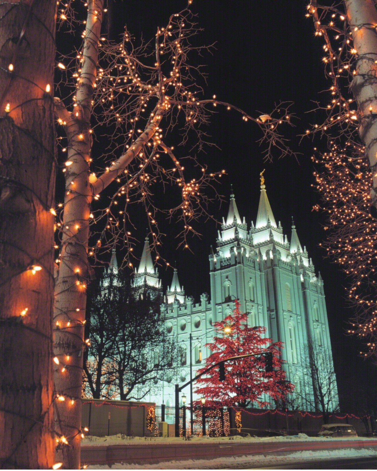 LDS Christmas Wallpaper