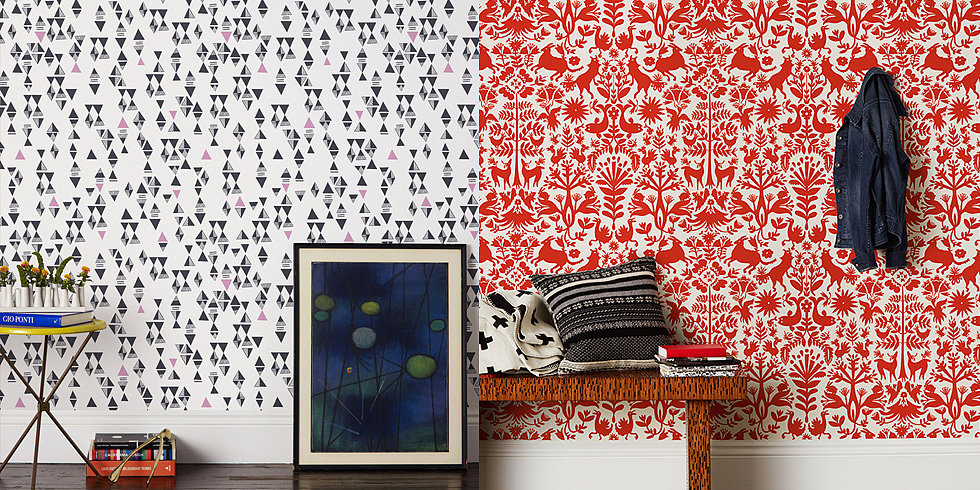 Wallpaper Tips and Tricks POPSUGAR Home 980x490