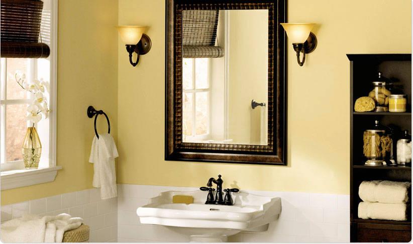 Superb 43 Bathroom Wallpaper Ideas Paint On Wallpapersafari Download Free Architecture Designs Sospemadebymaigaardcom