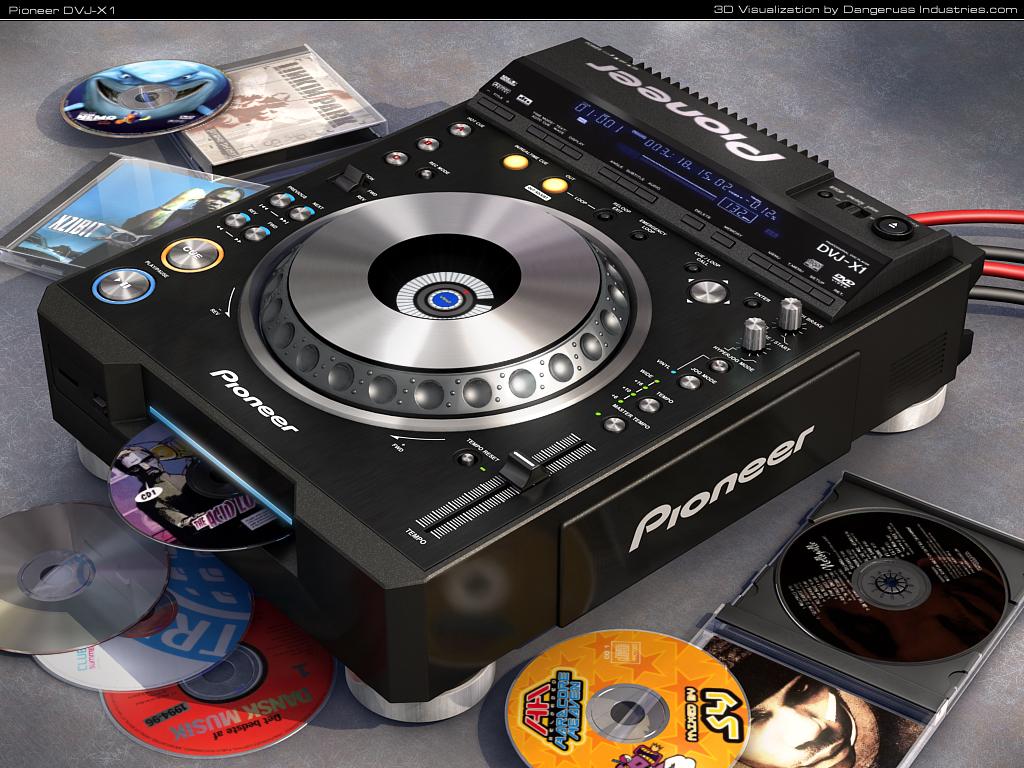 Pioneer dj wallpaper HD   Imagui 1024x768