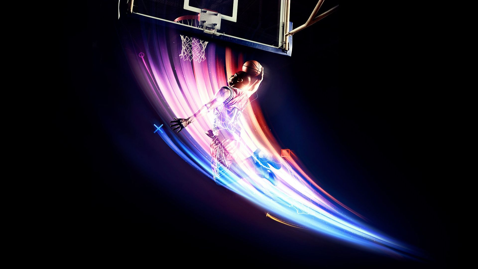 Colorful Cool Basketball Wallpapers Hd 1920x1080