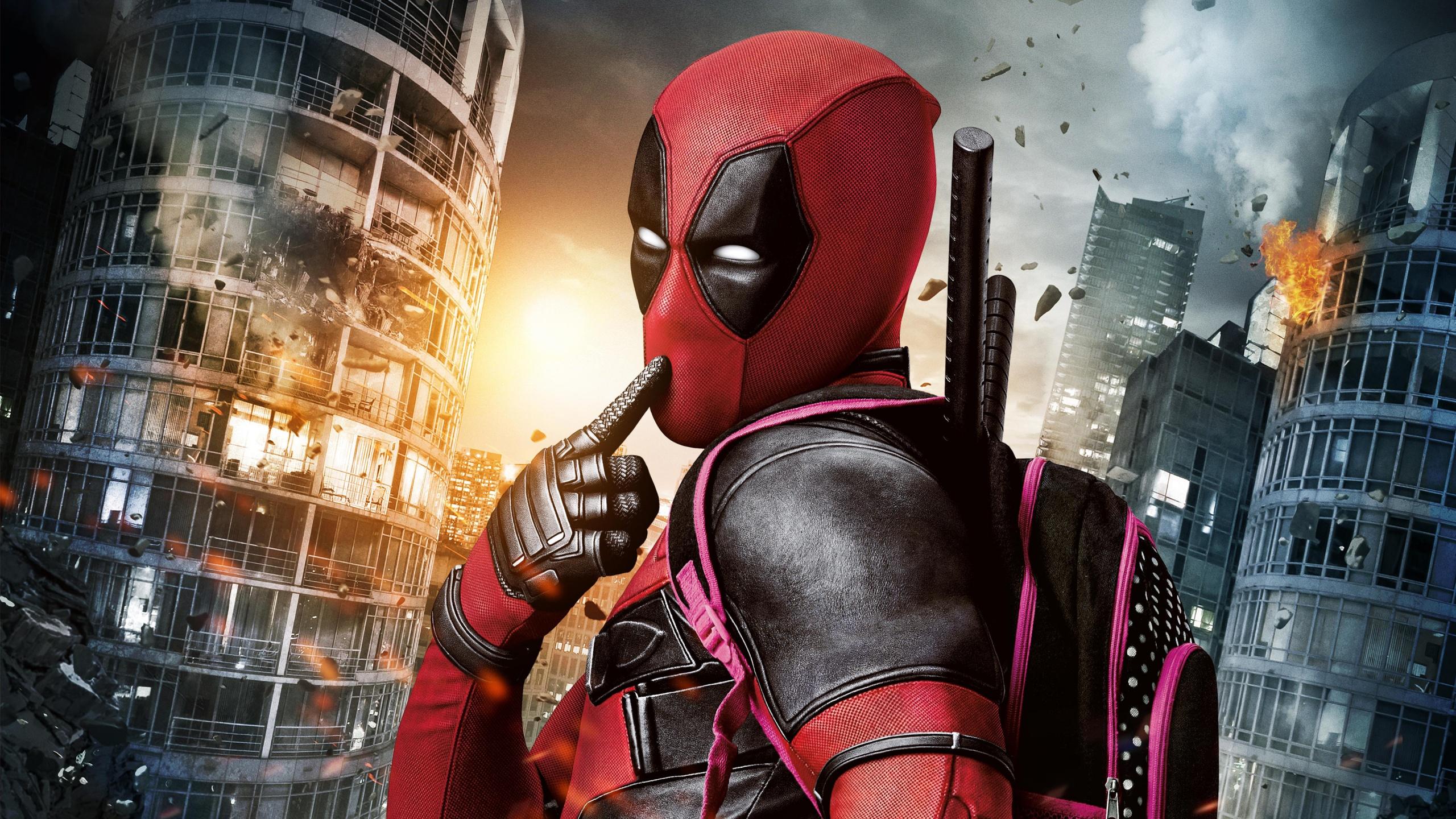 Marvel Deadpool Movie Wallpapers HD Wallpapers 2560x1440