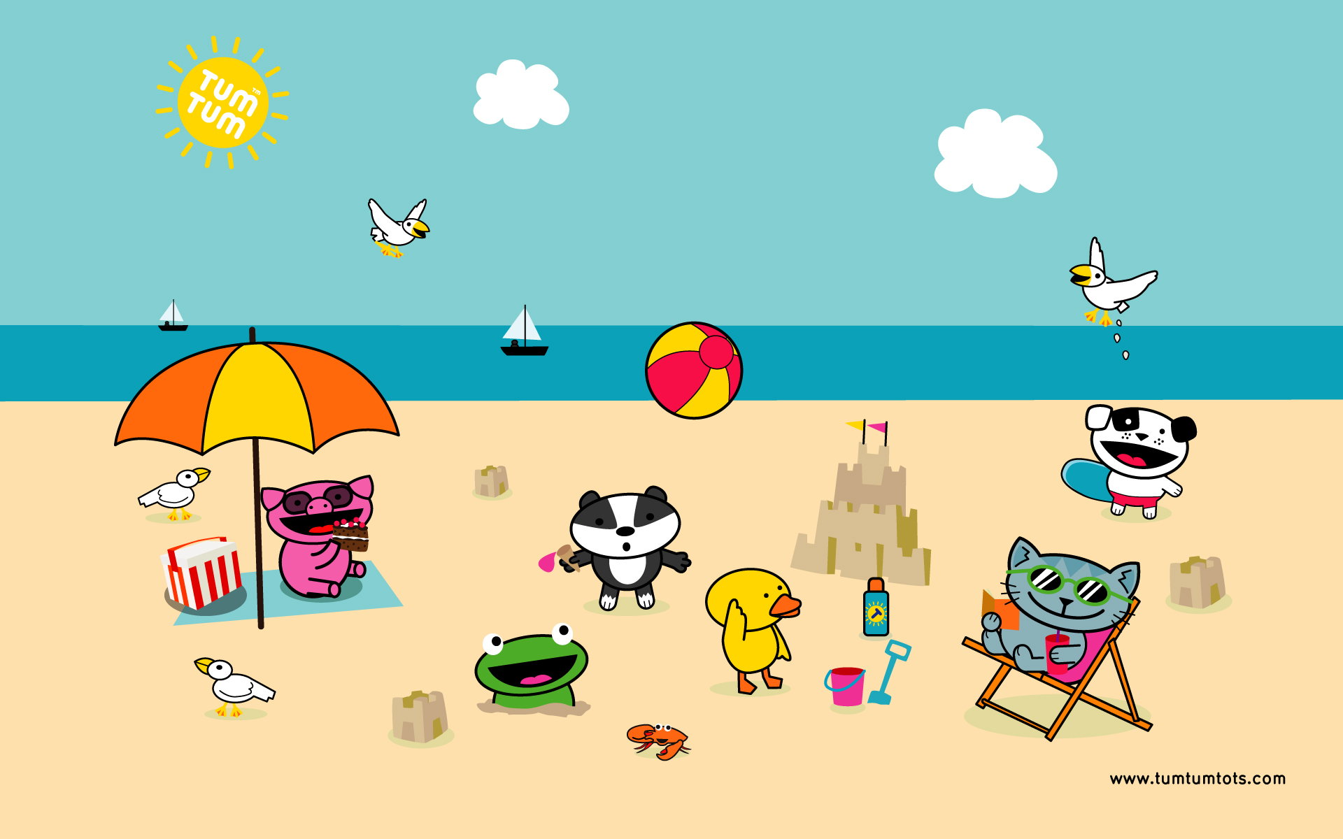 scene beach wallpaper wallpapers funstuff 1920x1200