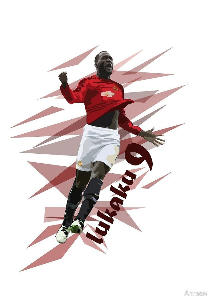 Lukaku   Manchester United Art by Armaan Design available on T 704x1000
