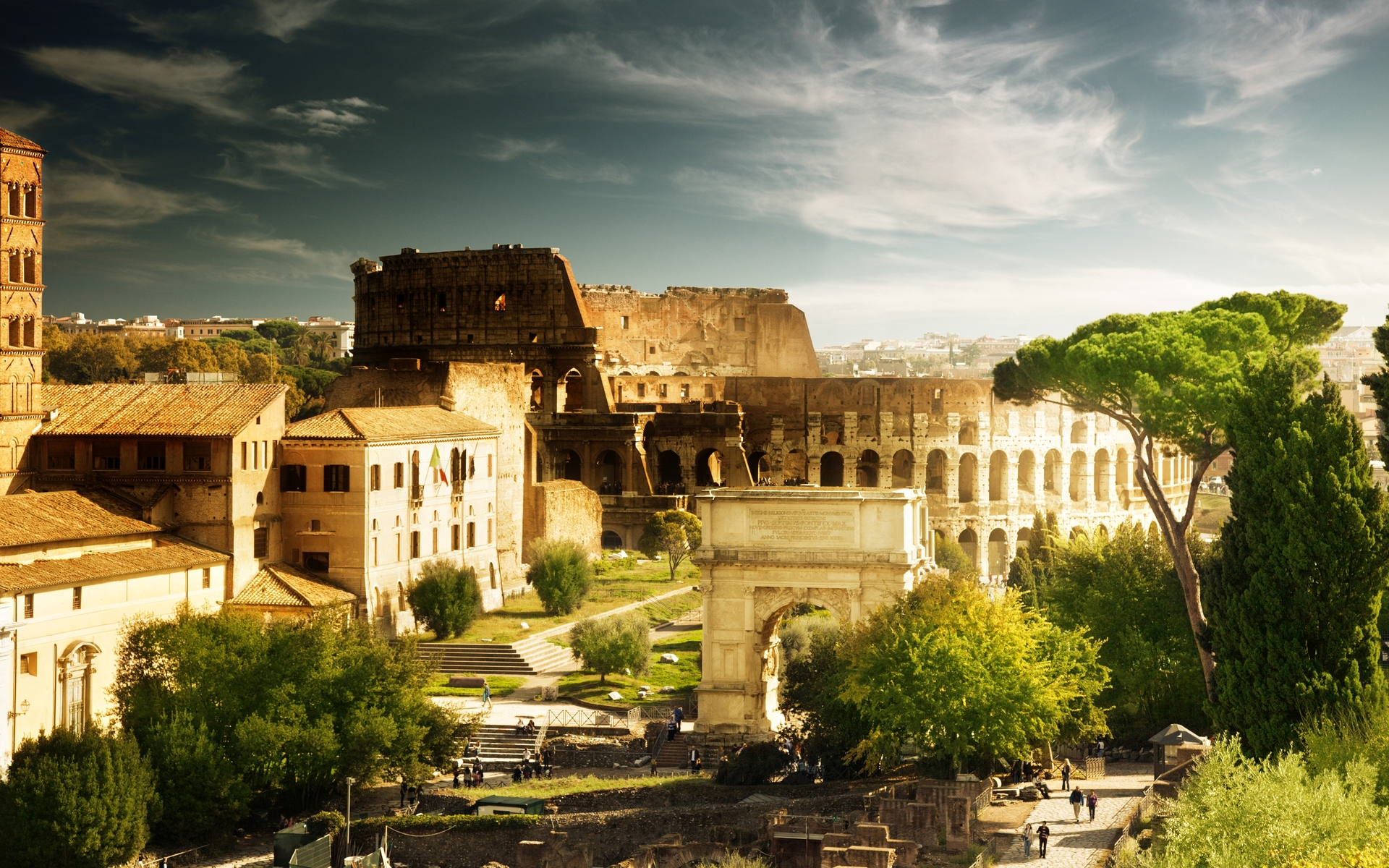 The Colosseum Rome Italy 1920 x 1200 Locality Photography 1920x1200