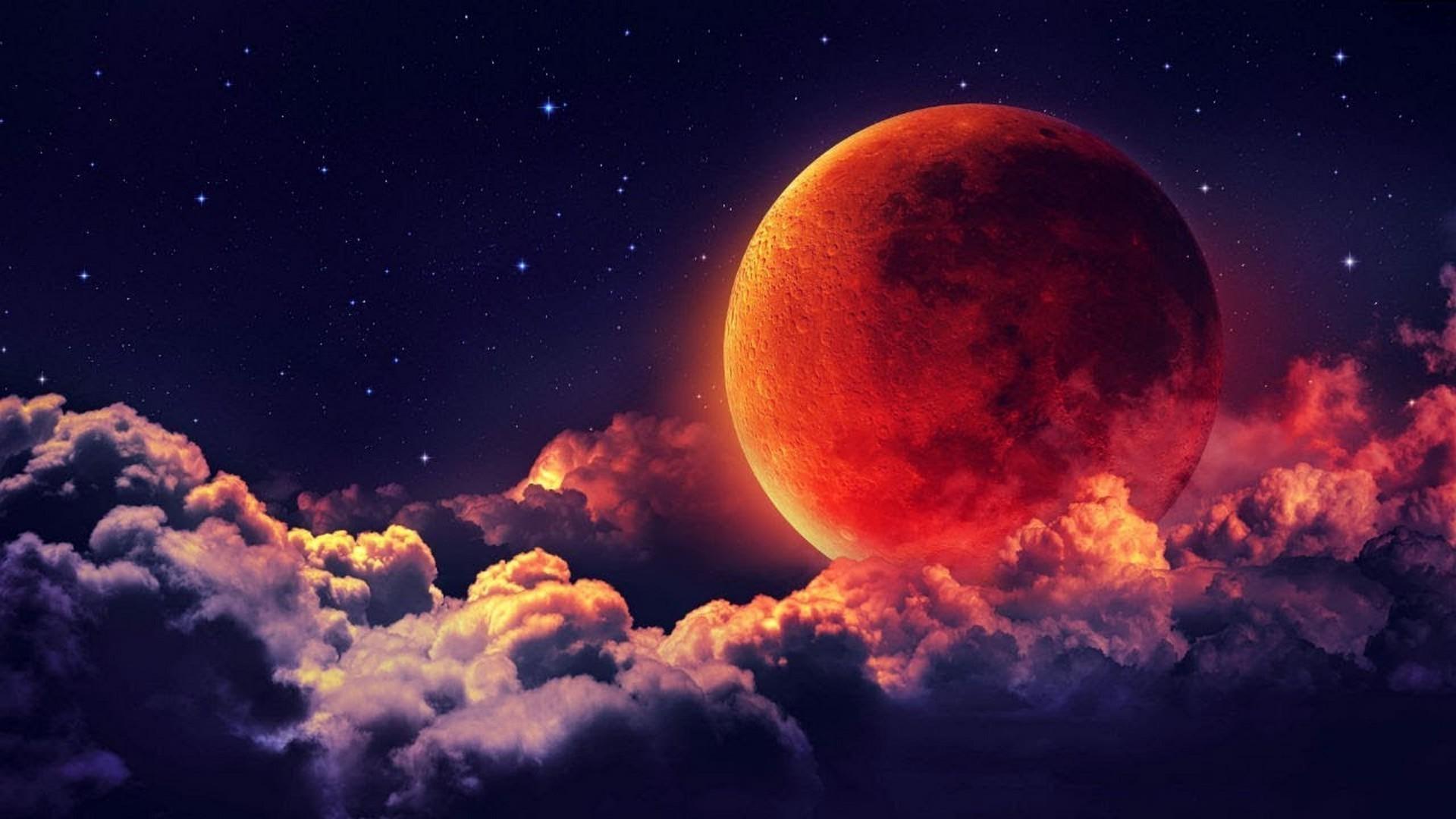 Super Blood Moon Wallpaper 2020 Cute Wallpapers 1920x1080
