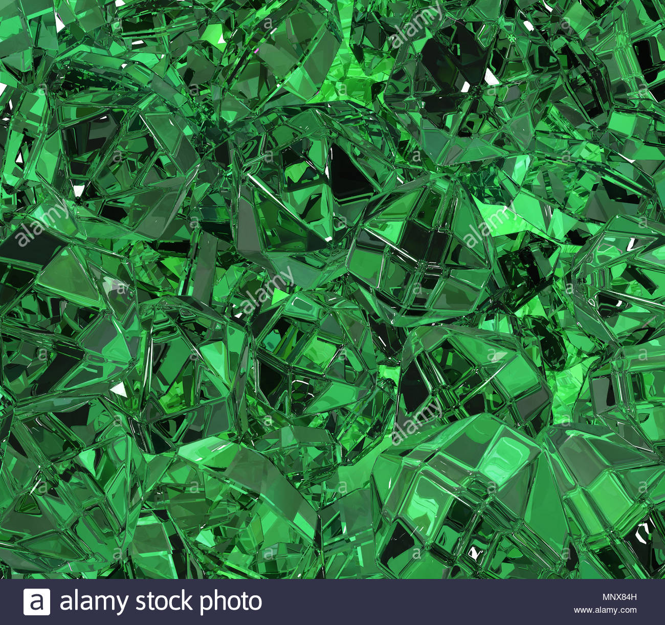 Emerald green material surface abstract 3d illustration 1300x1222