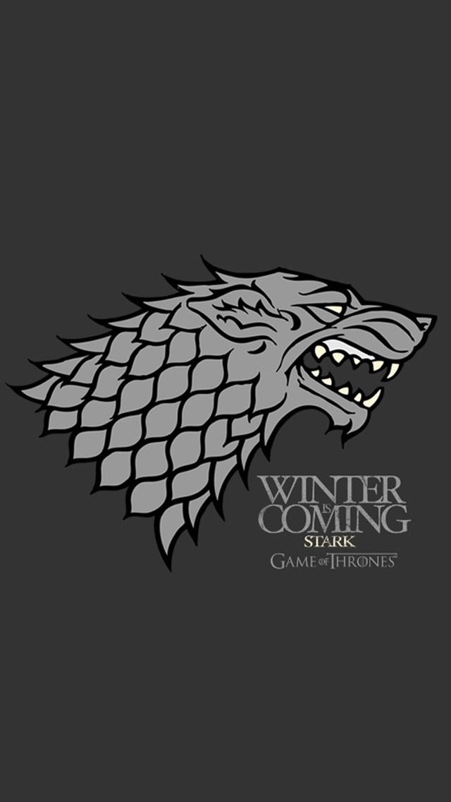 Winter is Coming iPhone Wallpaper - WallpaperSafari House Stark Wallpaper Android