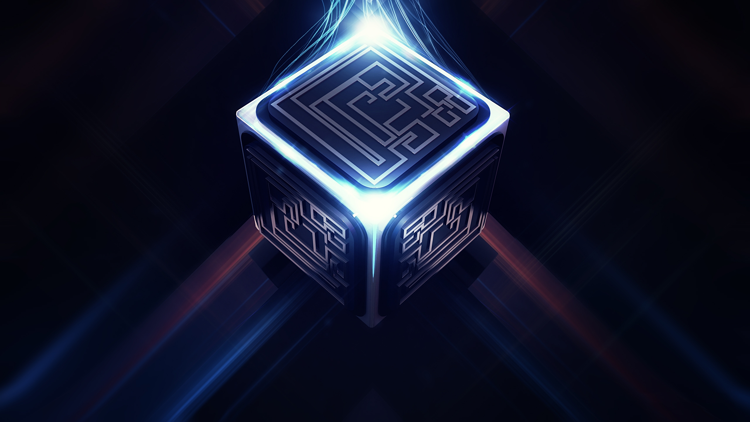 3D Cube Maze Wallpaper   HQ Wallpapers download 100 high quality 2560x1440