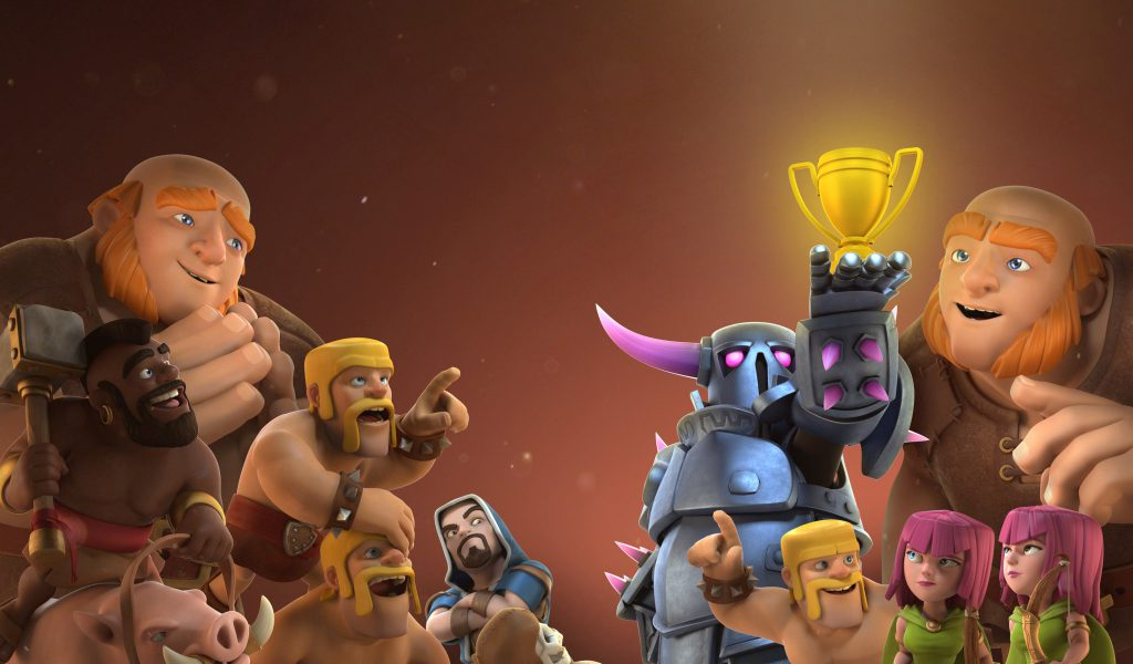 Clash Of Clans HD Wallpaper Wizard Ws16 WallangSangit 1024x600