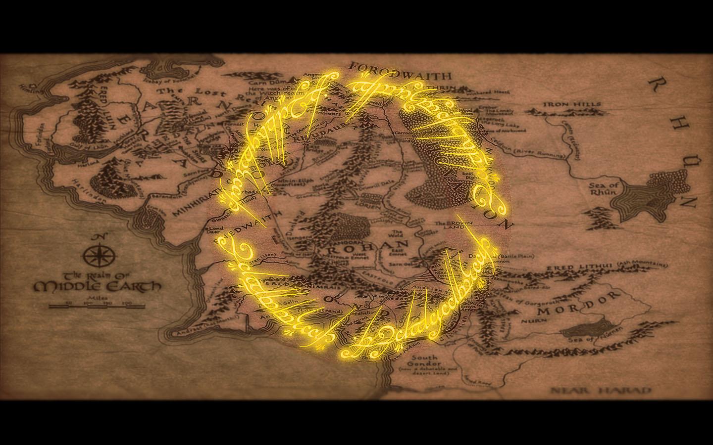 Карта властелин колец картинки