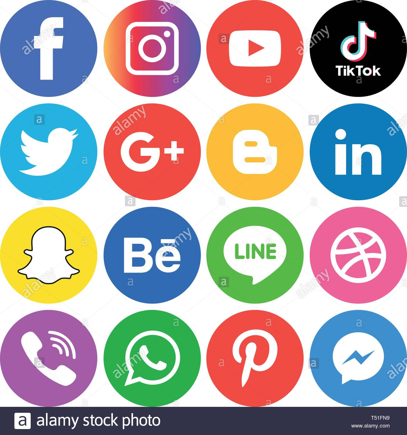 Social media icons set Logo Vector Illustrator Background social 1300x1390
