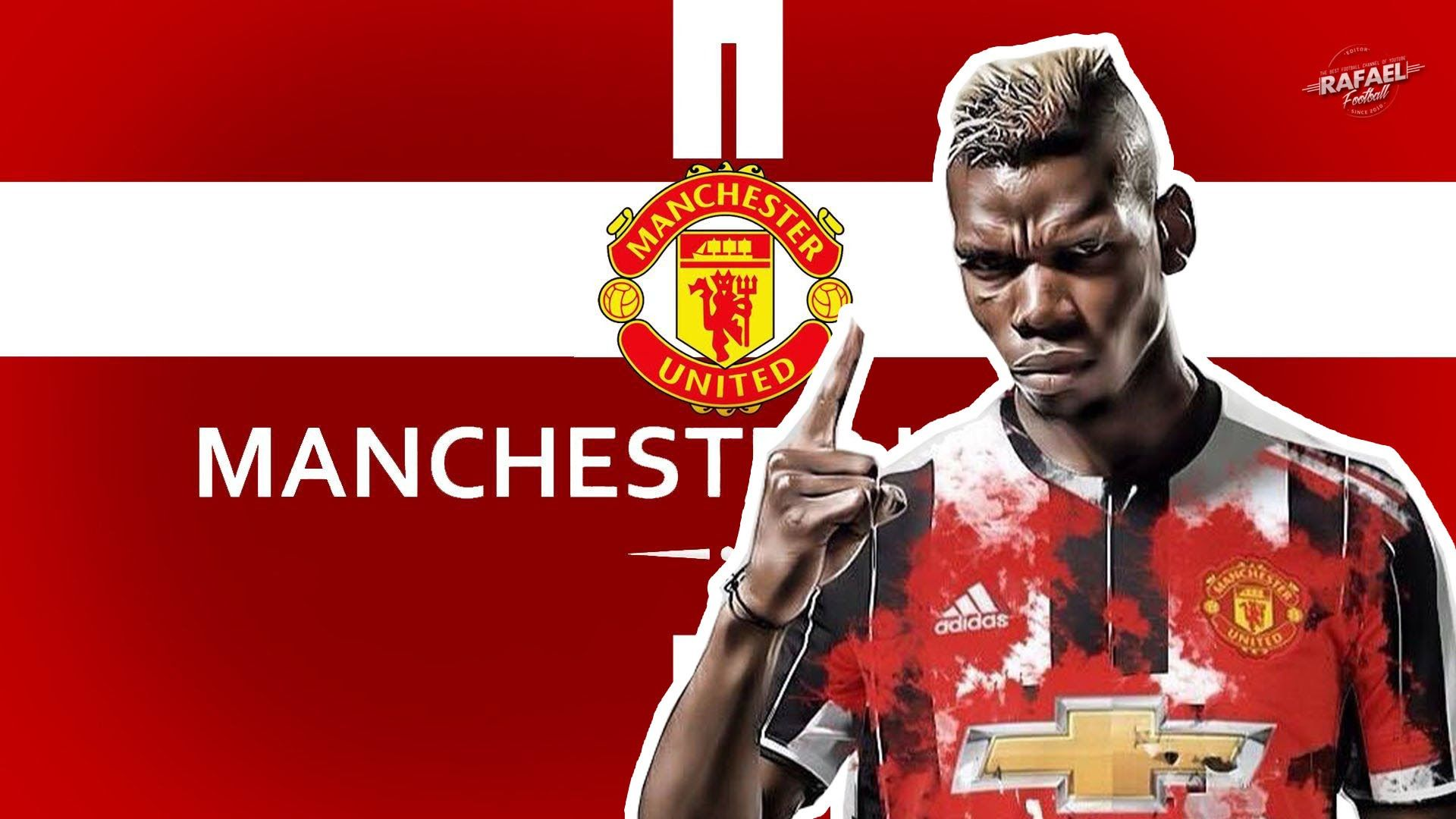 55 Pogba Man Utd Wallpapers   Download at WallpaperBro 1920x1080