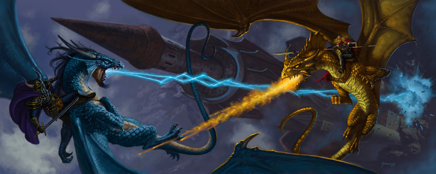 Dragonlance Wallpaper 900x360