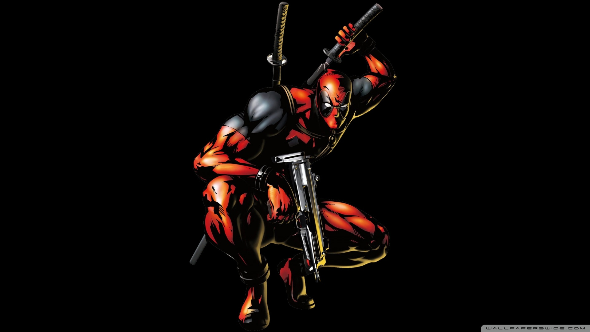 Deadpool Wallpaper 1920x1080 Hd 1920x1080 deadpool cartoon 1920x1080