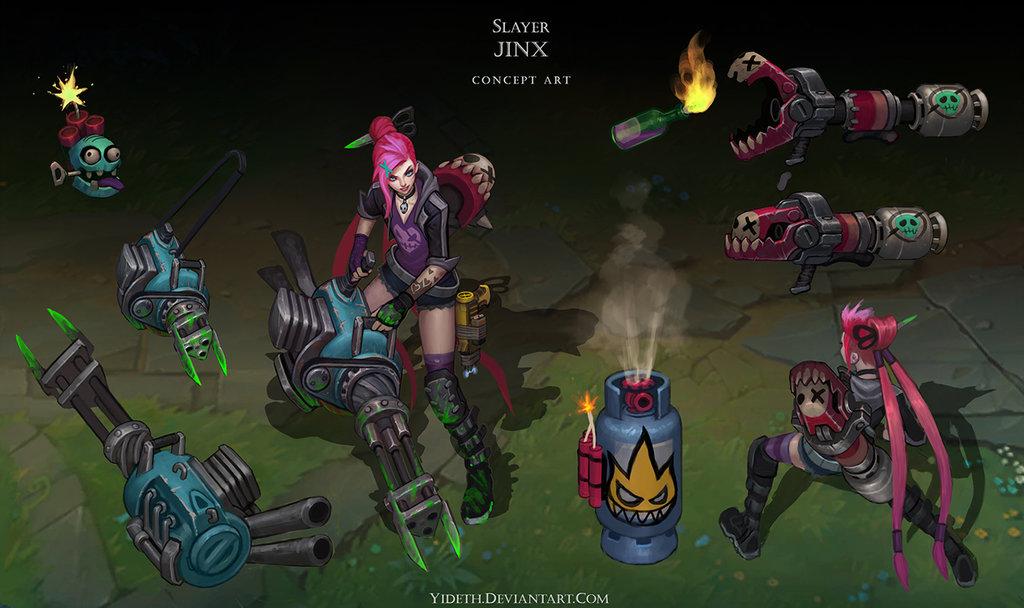 Slayer Jinx by Yideth 1024x608
