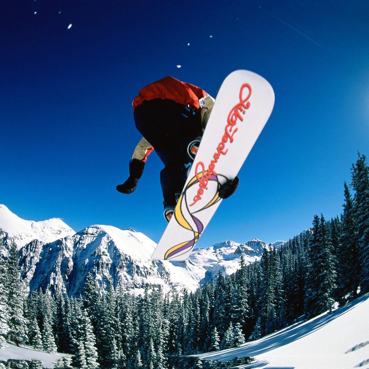 Amazon Kindle Fire Snowboard   Airborne wallpapers Amazon Kindle 1280x1280