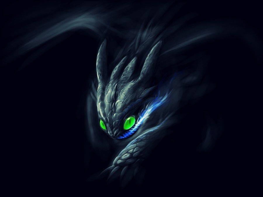 Night fury by gingaparachi 900x675